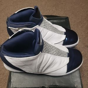 Nike Mens Air Jordan 16 Retro White/Midnight Navy